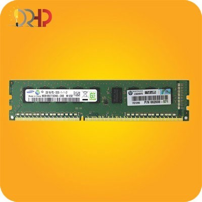 HP 4GB Single Rank x4 PC3-12800E (DDR3-1600)