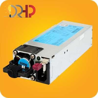 منبع تغذیه سرور HP 500W Hot Plug Power Supply