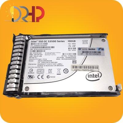 هارد دیسک HP SSD 100GB SATA 6G SFF (2.5in)