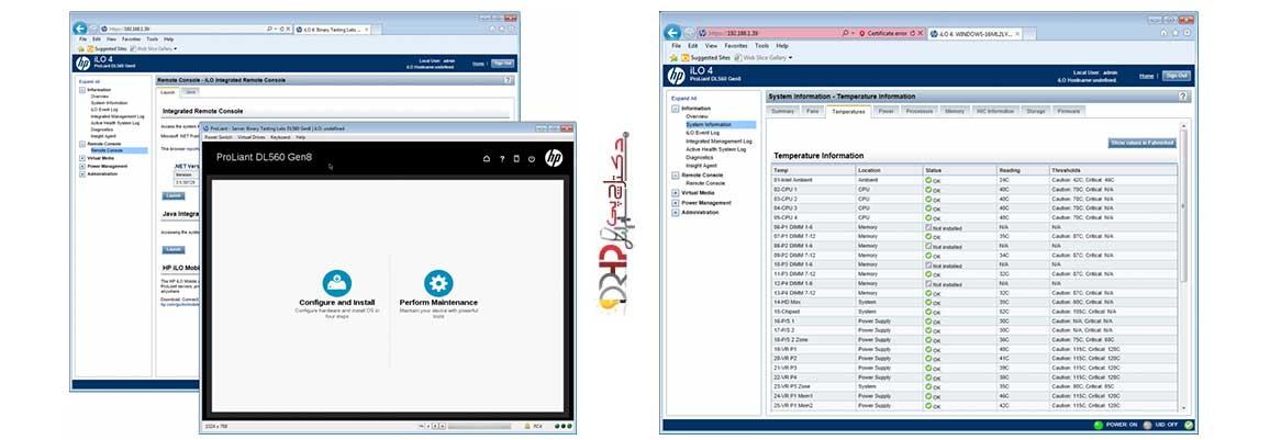 نقد و بررسی سرور HP DL560 G8 5sff
